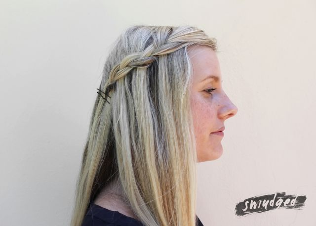 waterfall braid hair tutorial http://smudgedbeauty.co.za/2014/03/14/get-your-waterfall-on/