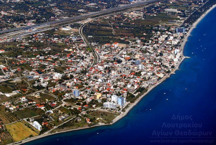 Agioi Theodoroi-Panoramic View