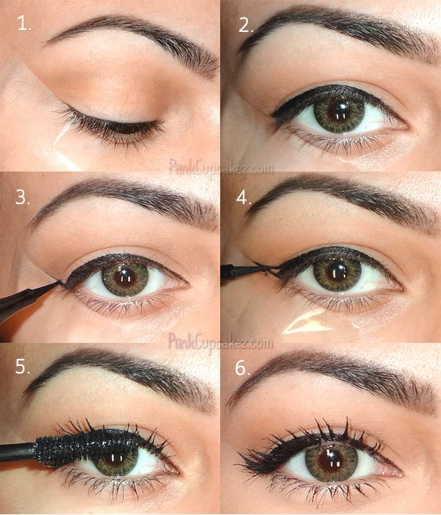 Makeup Easy Way Get Perfect Winged Eyeliner