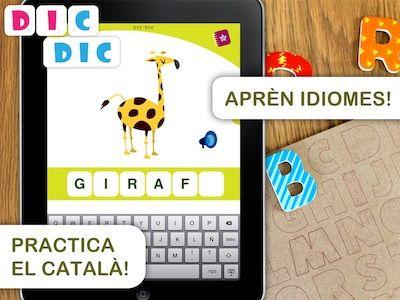 DIC DIC, per aprendre ortografia i vocabulari. App's per a nens. #sortirambnens