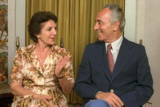 Со своей женой Соней Гельман (на фото) Перес познакомился в 1945 году в трудовой школе сельскохозяйс... - Reuters/Pixstream