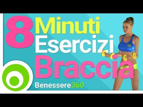 Esercizi per le Braccia in 8 Minuti - YouTube