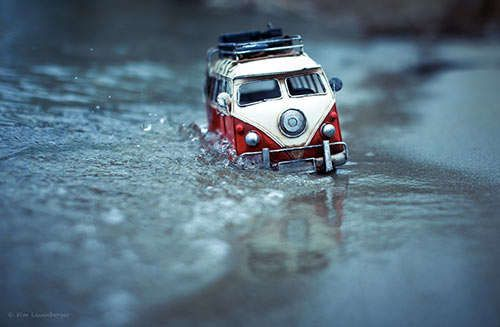 Miniature Car Captures