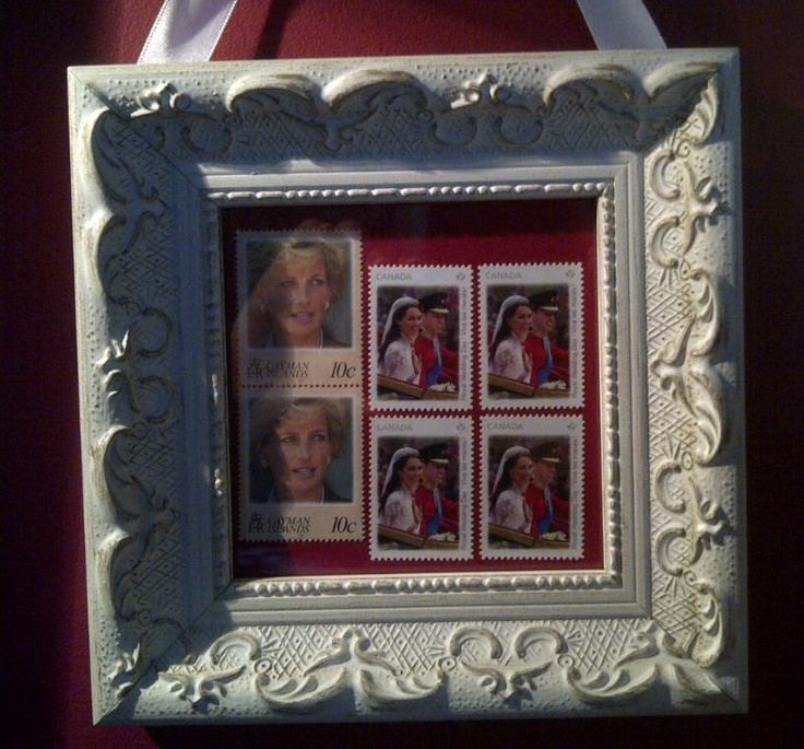 My stamp collection princess diana and the royal wedding of kate and