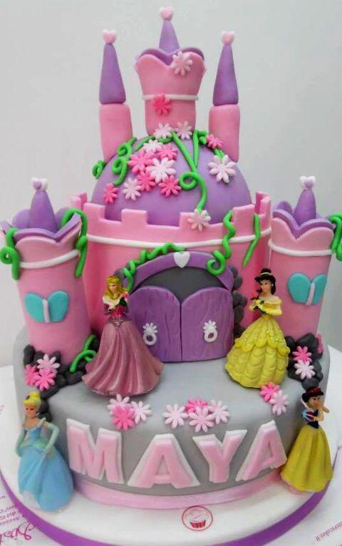 Castle. Cake