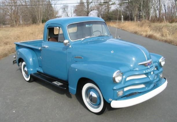 1954 Chevy 1/2 ton. Simply beautiful.