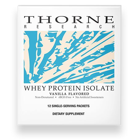 Whey Protein Isolate Vanilla Packets