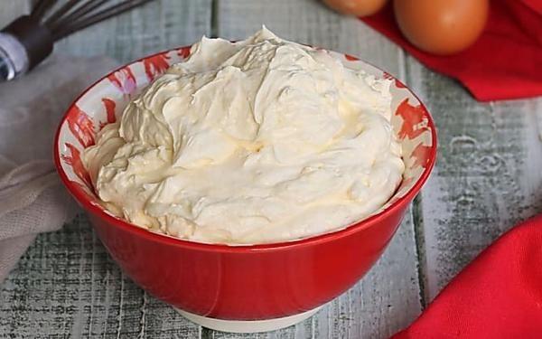 CREMA AL MASCARPONE CON UOVA PASTORIZZATE ricetta senza uova crude