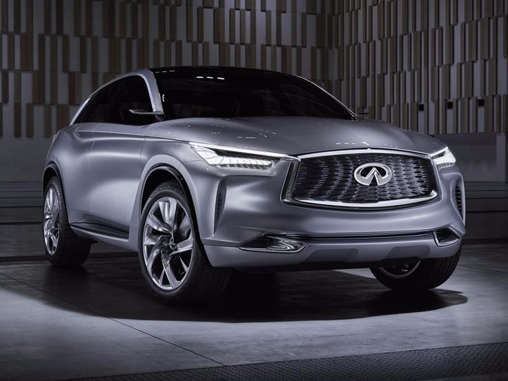 Infiniti's QX Sport Inspiration Concept made its North American debut at the show.