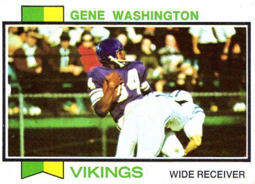 #74 Gene Washington  | MINNESOTA  -   #359 TOPPS 1973 Career similar to Brandon Marshall