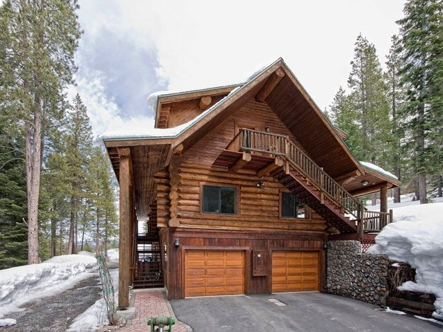 10 Design Ideas For Woody Houses. See A Model 44 Classic Raised Panel  Stained Wood. Log HousesTree HousesHouse IdeasCabin IdeasGarage ...