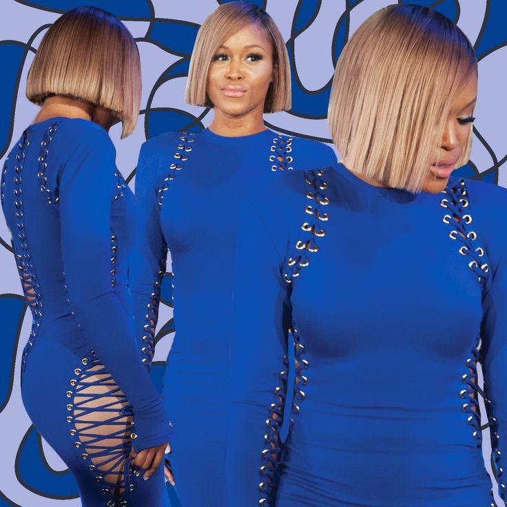 Blue dress rapper que