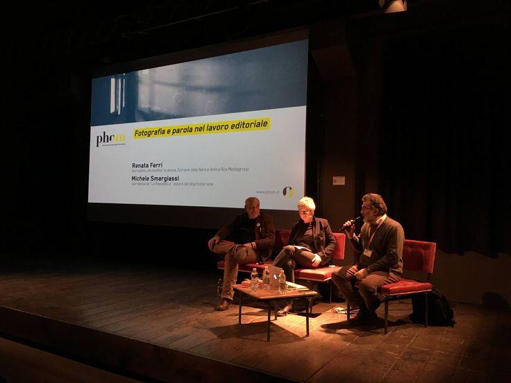 4° appuntamento di Incontri 2016, con Renata Ferri photoeditor gruppo RSC Rizzoli e Michele Smargiassi giornalista di Repubblica e blogger / Fotocrazia.