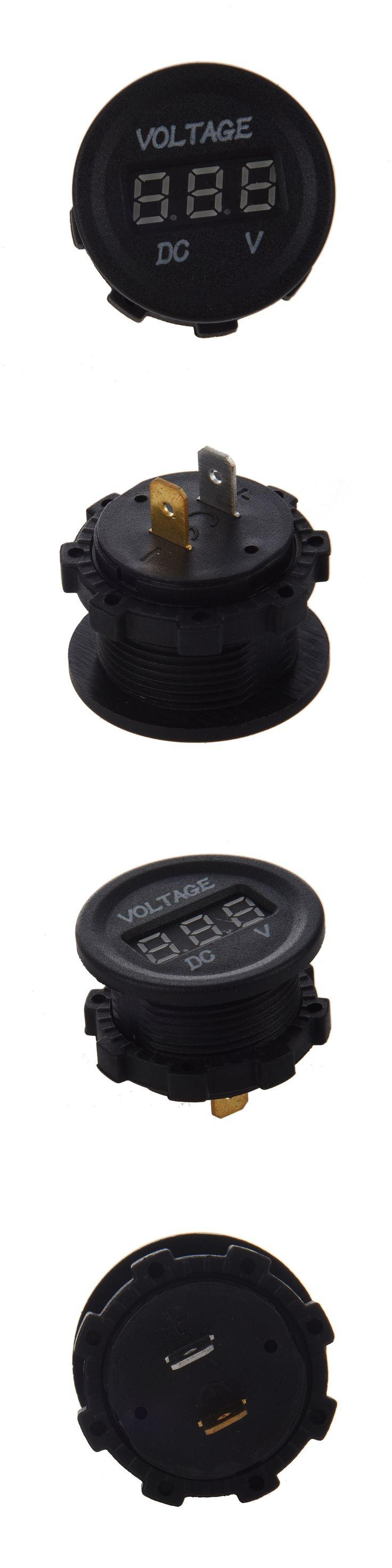 Hot Sale LED Display Car Digital Voltmeter Electric Voltage Meter Monitor Socket for Truck Automobile Motorcycle Digital Meter