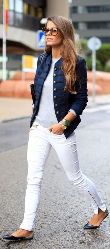 #Blue #Navy by Seams For a Desire