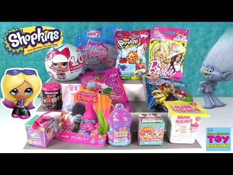 Trolls Gift Ems LOL Surprise Doll Barbie Pets Blind Bag Toy Opening | PSToyReviews - YouTube