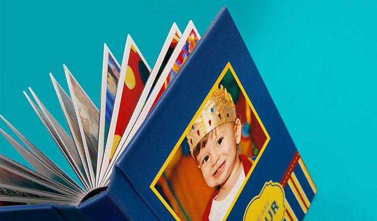 Álbum fotográfico aniversário festa infantil, ÁLbum e fotolivro infantil profissional personalizado, álbum de fotos infantil temático - menino e menina, encomendar e comprar album de fotos festa de aniversário infantil