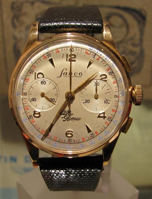 1955 lanco alfa romeo chronograph watches pinterest alfa romeo and chronograph. Black Bedroom Furniture Sets. Home Design Ideas