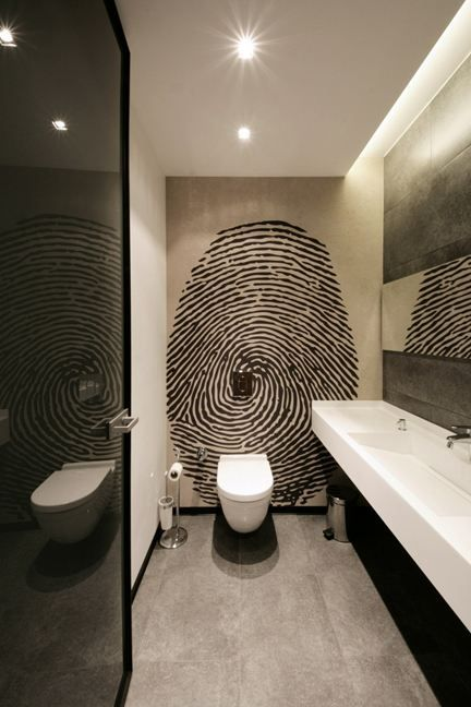 86 best toilet images on pinterest bathroom bathrooms for Decoration interieur original