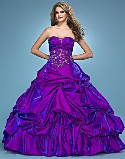 Landa Quinceanera AQ07 at Prom Dress Shop