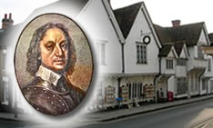 The Old Sun Inn.  Oliver Cromwell's Headquarters during the English Civil War