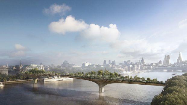 Garden Bridge #London Thomas #Heatherwick