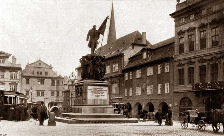 Photo of Malostranské náměstí before 1919.