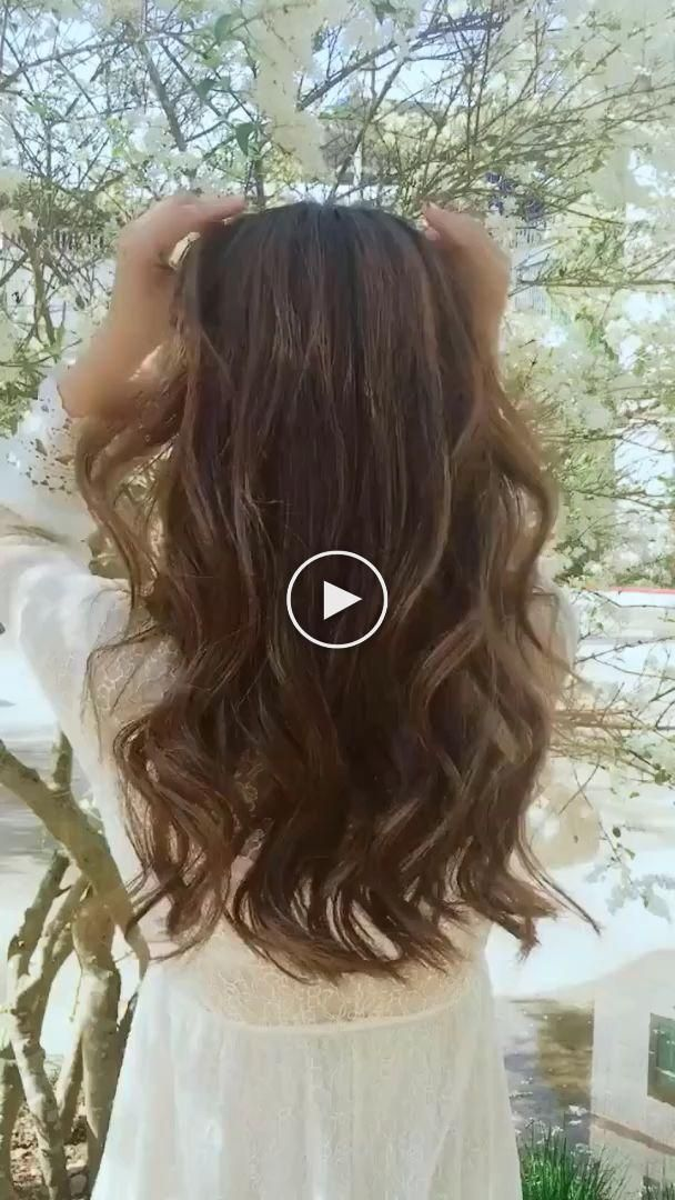 Coiffures Pour Les Videos Cheveux Longs Tutoriels Coiffures Compilation 2019 Partie 255 Tutoriels Coiffure Coiffure Coiffure Facile