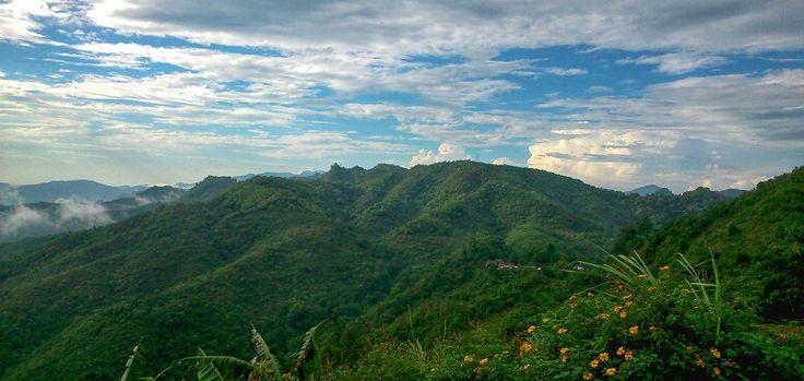 Mountain in laos
