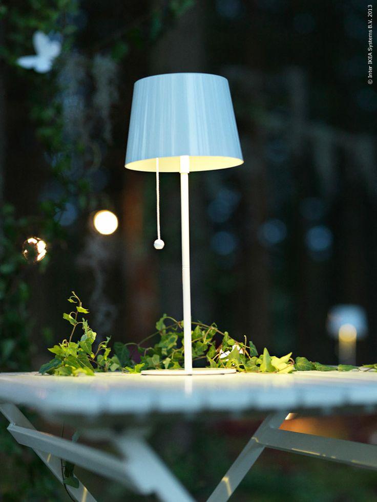 Solvinden. Solarpowered LED-lamp from IKEA.  http://livethemma.ikea.se/node/40423