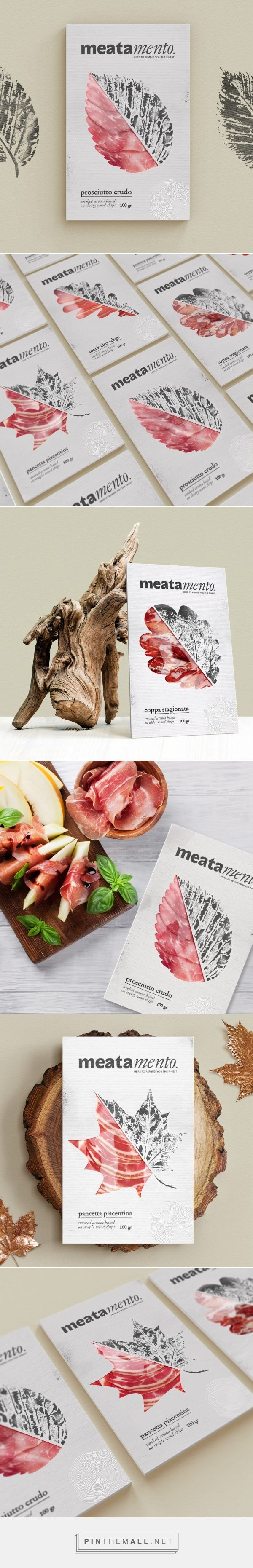 Meatamento packaging design by Gordost - https://www.packagingoftheworld.com/2018/03/meatamento.html