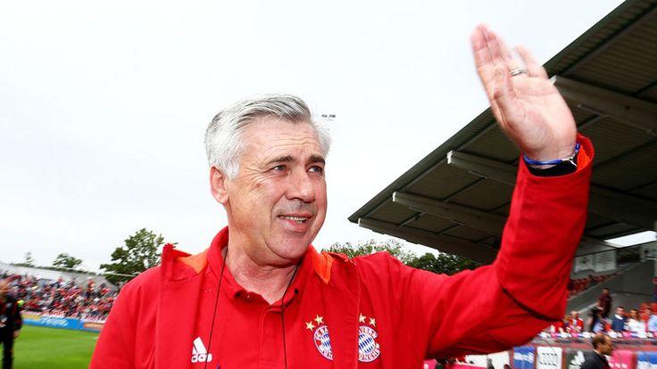 New Bayern Munich boss Carlo Ancelotti is happy in Bavaria
