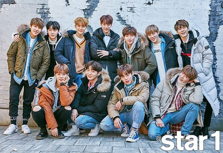 'Star1' teases their upcoming winter-themed pictorial with Wanna One https://www.allkpop.com/article/2017/10/star1-teases-their-upcoming-winter-themed-pictorial-with-wanna-one