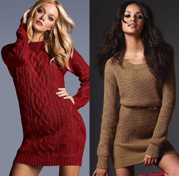 Теплый женский свитер victoriya sicrets