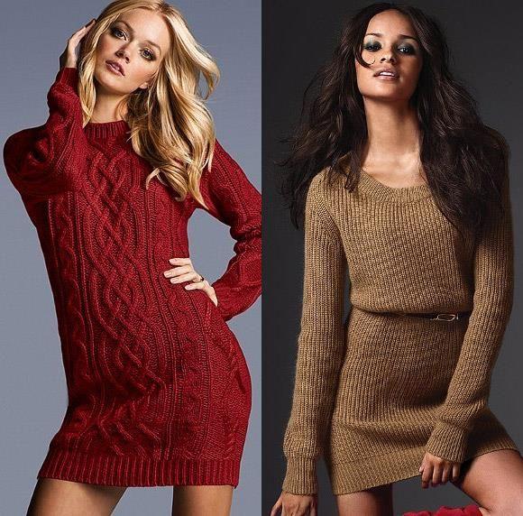 Купить вязаное платье victoria's secret