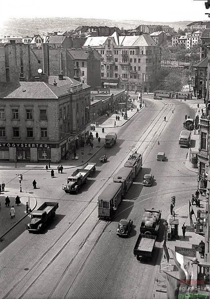 1940-es évek. Margit körút.