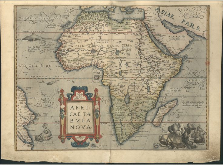 """C.A. 117 V.- 24584_28 - Abraham Ortelius (1527-1598) -  """"[Theatrum orbis terrarum]"""" .  Antuerpiae  : Apud Aegid. Coppenium Diesth, 1571.  BNP C.A. 117  V."""