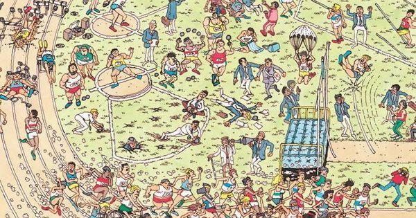 Where's Wally? | Waar is Wally | Pinterest | Photos