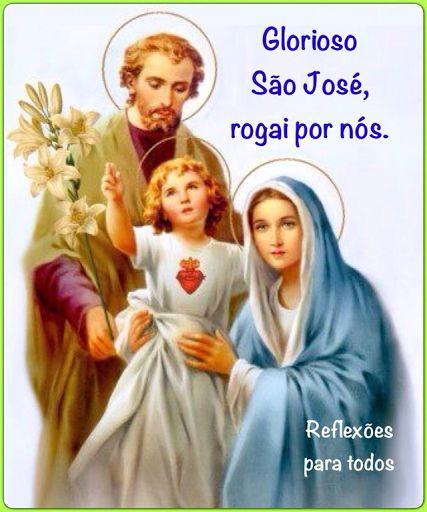 19 de Março - Dia de São José Clique na imagem e acesse a Oração a São José.
