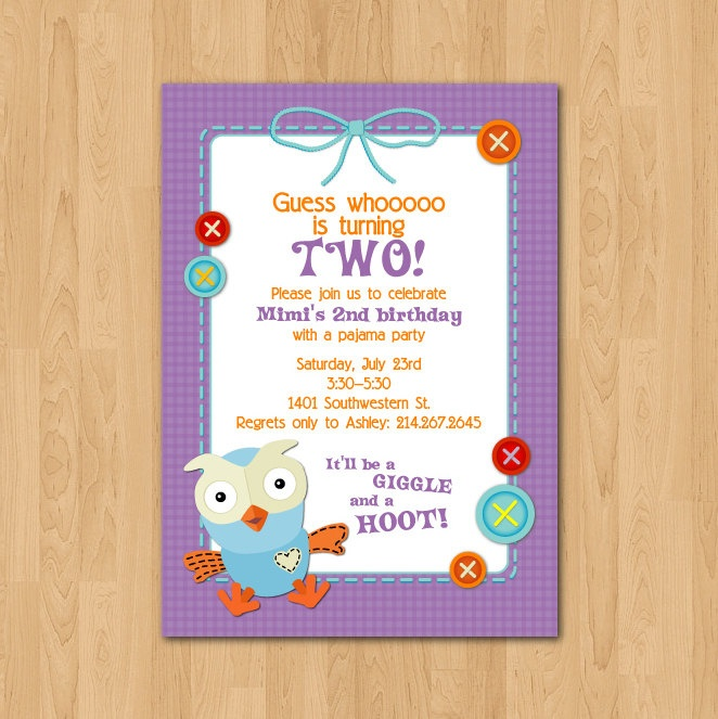 PRINTABLE Giggle & Hoot Owl birthday party by chachkedesigns