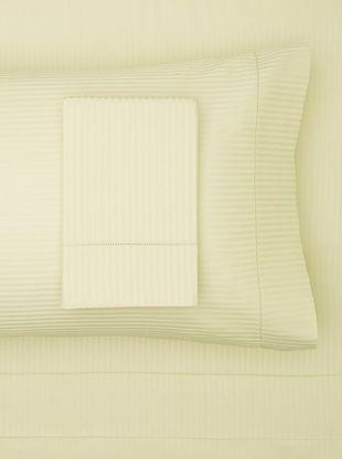 61% OFF 300 TC Satin Stripe Sheet Set (Mint)