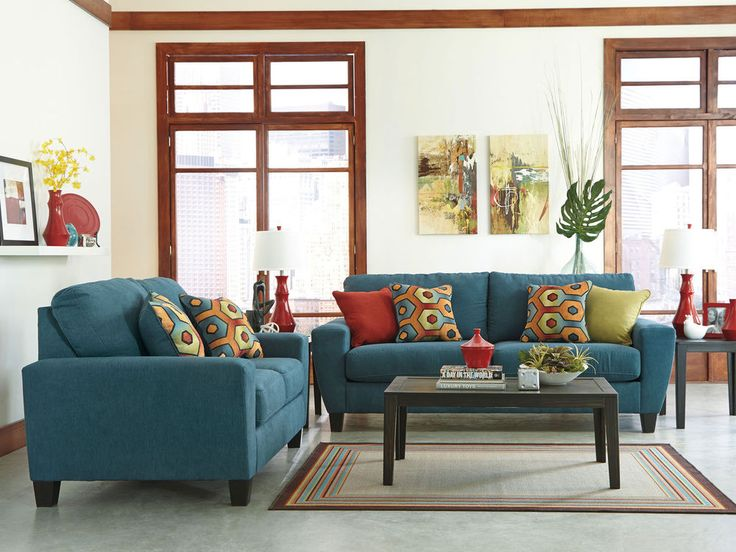 17 Best Ideas About Teal Living Room Furniture On Pinterest