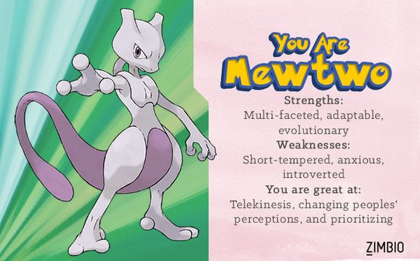 Which Pokémon Character Are You?