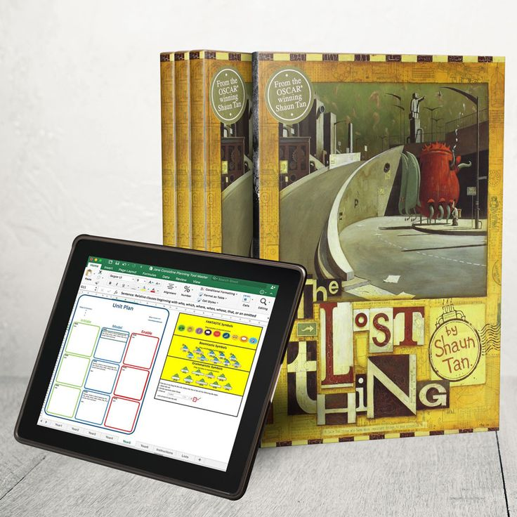 Free - This is a complete Literacy unit for Year 4 based on the amazing book and film 'The Lost Thing' written by Shaun Tan.