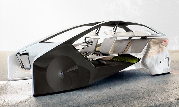 BMW i Inside Future je slibná vize autonomního vozu
