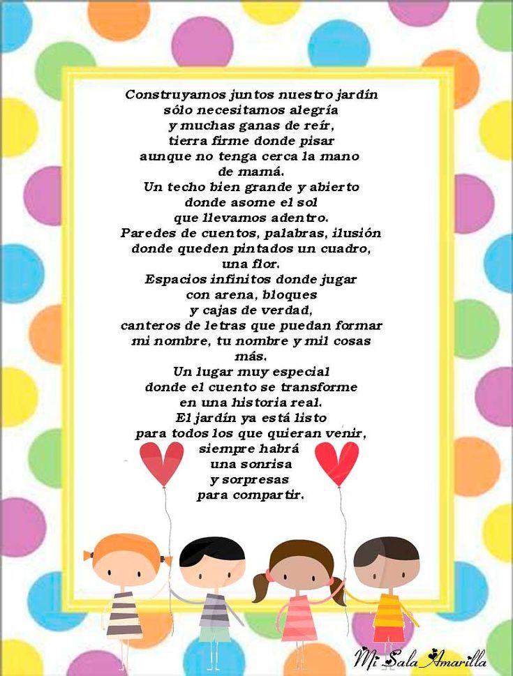 10 best images about bordes y marcos on pinterest for Cancion para saludar al jardin de infantes