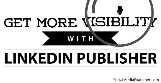 Do you want more visibility on LinkedIn?Are you using the new LinkedIn publishing platform?Publishing content on LinkedIn Publisher can give your content and your reputation a boost.In this article I'll share the best practices for publishing your posts to LinkedIn for more visibili