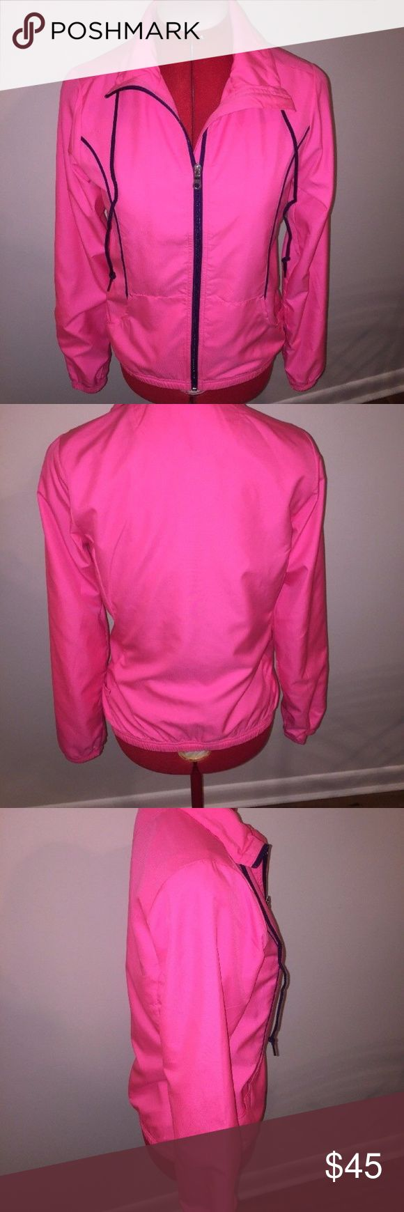 Reebox Pink Women's Zip Up Jacket Size XS Reebox Pink Women's Zip Up Jacket Size XS  Perfect condition Reebok Jackets & Coats