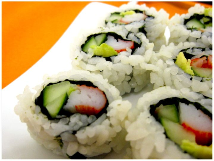 Homemade California rolls | Ambitious Deliciousness - Don't Eat Lazy.