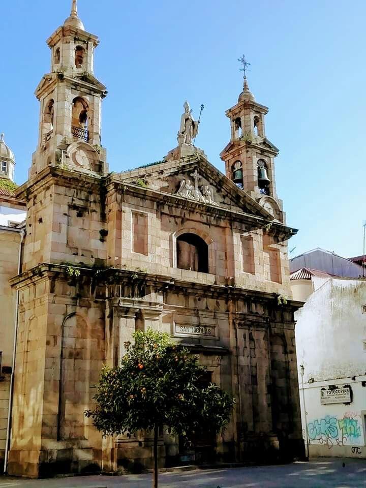 Iglesia De San Nicolás A Coruña